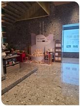 Brown Terrazzo Flooring Wall Cladding Tile Slab