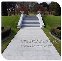 China Blue Stone Flamed Flooring Paving Tiles