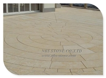 Yellow Beige Limestone French and Classical Patter