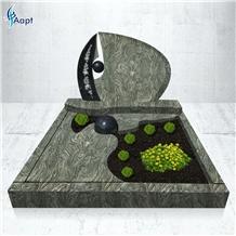 Kuppam Green Granite Tombstones