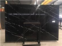 China Oriental Black Marble Tile Bathroom Floor