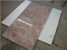 China Rose Sunset Pink Marble Wall Floor Tile
