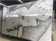 Pandora Granite Slab Brazil White Crystal Stone Wall Tiles