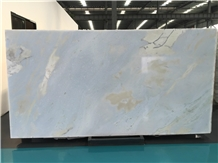 Sky Blue River Ocean Green Marble Slab