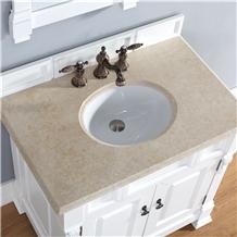 Antique Beige Marble Vanity Top Bath Top