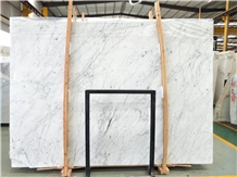 Bianco Carrara White Marble Slab Floor Wall Tiles