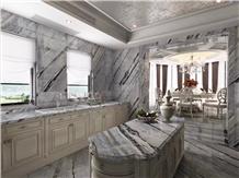 Blue Danube Marble Kithchen Vanity Countertops