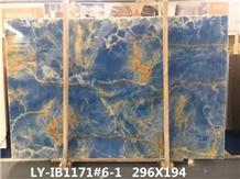 Blue Onyx Slab for Wall Decoration