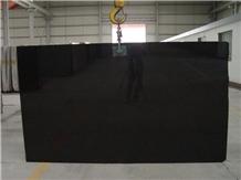 China Absolute Shanxi Black Granite Slab Tile