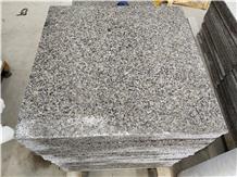 China New G664 Flamed Granite Slab Tiles