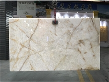 Crystal White Ice Quartzite Floor Wall Slabs Tiles