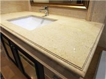 Egyptian Yellow Marble Vanity Countertops
