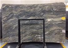 Fusion Blue Quartzite Slabs Tiles Wall Background