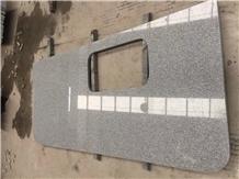 G603 Luna White Granite Kitchen Island Countertop