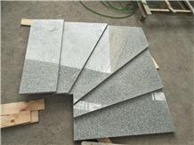 G603 Padang Light Grey Granite Stair Tread Step
