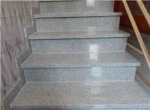 G603 Sesame White Granite Stair,Riser / Threshold