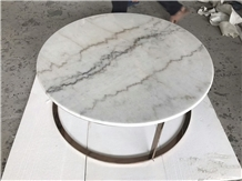 Guangxi White Marble Table Top
