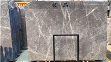 Hermes Emperador Silver Grey Marble Slab,Bathroom Floor Tile