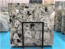 Ice Connect Green Marble Slab Floor Wall Tile