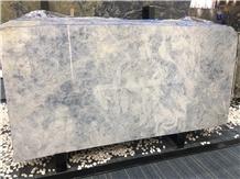 Iceberg Blue Quartzite Slabs Floor Tile Background