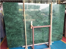 India Forest Green Marble Floor Wall Slab Tiles
