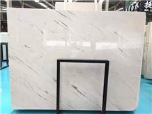 Macedonia Binaco Sivec White Marble Slab Tile
