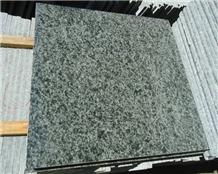 Olive Green Granite Slab Tiles Floor Covering