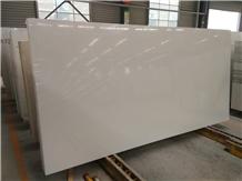 Pure White Quartz Stone Slab Tiles