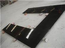 Shanxi Absolute Black Granite Kitchen Countertop