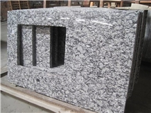 Spray Grey Wave Granite Kitchen Countertop