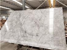 Super White Premium Quartzite Slab Tiles