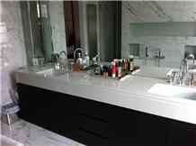 Thassos White Marble Kitchen Bathroom Countertops