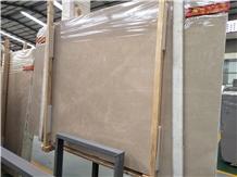 Turkey Burdur Beige Marble Slab Floor Wall Tiles