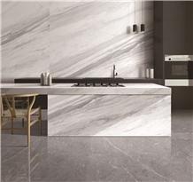 Volakas White Marble Kitchen Top Countertop