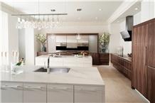 White Calacatta Quartz Stone Countertop