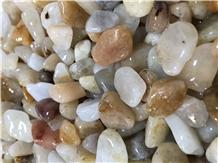 Efes Quartz Stone Flouray Tumbled Pebbles,Gravels