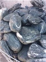 Green Marble Pebble, Flouray Green Angel Pebble Stone