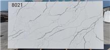 Calacatta Quartz Engineered Stone Slabs&Tiles