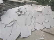 China White Quartzite Flagstone Walkway Pavers