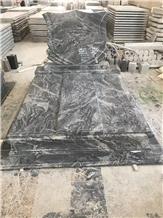 Grey-Granite Headstone&Jewish Style Tombstones