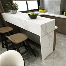 Artificial Calacatta Ceramic Kitchen Countertop