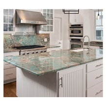 Luxury Table Stone Amazon Green Granite Countertop