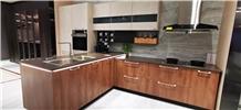Modern Home Bar Countertop Marble Kitchen Cabinet