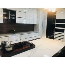 Quartz Marble Stone Countertops Kitchen Cabinet