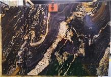 Titanium Gold Cosmic China Black Granites