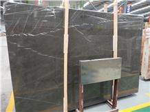 Grafitti Grey Marble Slabs for Kitchen Wall Tiles