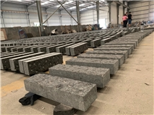 Angola Black Granite Flamed Water Paving Stone
