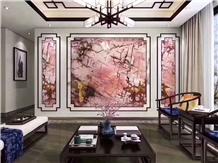 Brazil Pink Quartzite Polished Wall Cladding