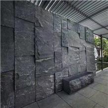 Chinese Black Granite Natural Surface Backdrops