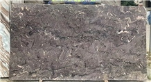 France Purple Landscape Marble Polished Big Slabs